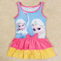 retail frozen swimsuit summer frozen swimwear for girls nova children swimwear kids bikini set girls swimwear R5275