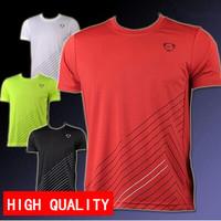 free shipping wholesale New arrival 2014 Men Designer Quick Drying Tee Shirt Slim Fit Tops Sport t shirt plus Size M -XXL LSL115