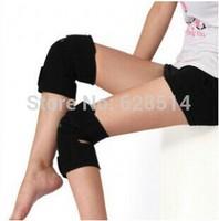 Free shipping!Tourmaline kneepad self heating kneepad sports thermal magnetic therapy kneepad