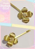 2014 New Alloy Gold flower  Hairpins,Hair Comb Headband Hair Accessories Punk