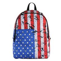 VEEVAN American flag printing women's/men's backpacks desigual shool bags for boys/girls satchel laptop Bag Backpack Rucksack