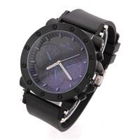Relogio Masculinos 2014 New Fashion Men Quartz Watch Analog Silicone Black men Wristwatches Military watch Dropship Cheap