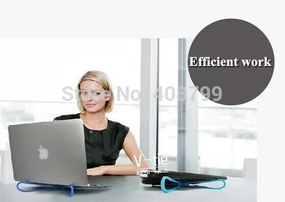 все цены на Охлаждающий коврик для ноутбуков OEM DHL/Fedex 80pcs Laptop cooling rack lapdesks онлайн