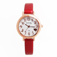Wholesale High Quality Gogoey Brand Fashion Leather Watch Women Ladies Crystal Dress Quartz Wristwatches GO124