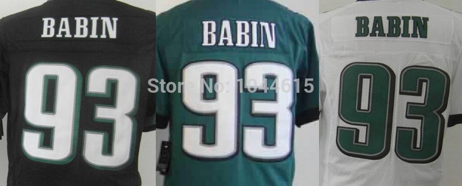 Cheap American Football Team N - E - PHI # 93 Jason Babin Jersey - Get The Highest Cost-effective Sports Jerseys Here(China (Mainland))