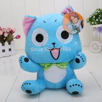 "5pcs/lot Japanese Anime Cartoon Fairy Tail Happy Plush Toy Soft Stuffed Animal Doll 12"" 30cm"