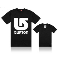 17 styles Good Quality print men apparel t shirt Brand Burton fitness slim fit t-shirts men clothing for spring and summer