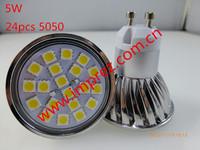 5050 4W GU10 LED Spot Lamp Light Ra>80 2years Warranty