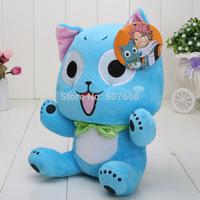 "Japanese Anime Cartoon Fairy Tail Happy Plush Toy Soft Stuffed Animal Doll 12"" 30cm"