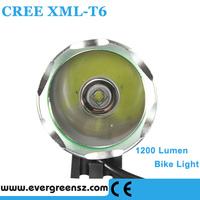 Hot Bicycle 1200 Lumen CREE XML T6 LED USB Bike Light Front Bicycle Lamp & LED Headlight Headlamp 3 Modes 1T6-5