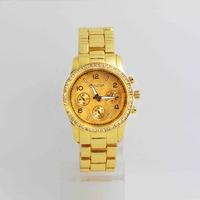 Geneva Brand Japan Movement Steel Crystal Watch Men Women Ladies Sports Quartz Wrist Watch High Quality G-3