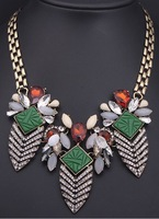 Leaves Retro fashion Chic Folk style Chic necklace women free shipping