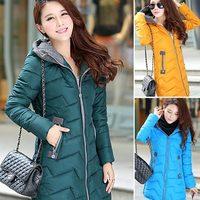 high quality 2014 new winter women's coat Plus size L,XL,XXL,XXXL long coat down jacket thicken down parka coats hooded 967