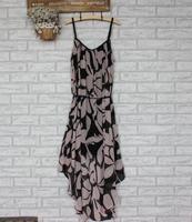 2014 New Arrival High Quality Very Fashion Bohemian Style Women Chiffon Beach Long Dress Women Casual Dress Free Shipping