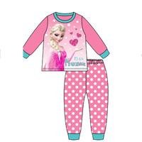 2014 New Arrived  frozen girls Anna Elsa long sleeve Autumn Winter pajamas sleepr 100%cotton 1 sets=2pcs Free shipping X250