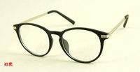 77333 plain  mirror glasses wholesale Korean version sheet metal and white black-rimmed glasses frame glasses for men and women