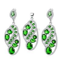 TZ0111/TZ0112/TZ0113 New Promotion 100% Genuine 925 Sterling Silver Set Pendant & Earring Set  For Women Free Shipping Wholesale