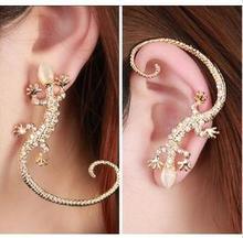 Accessories New Fashion stud earrings gold Color gekkonidae lizard hot-selling earrings