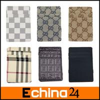 2014 6 Model Unisex Mini Card Holder 10*7cm Fashion Decorative Pattern Funny Magic Wallet Free Shipping