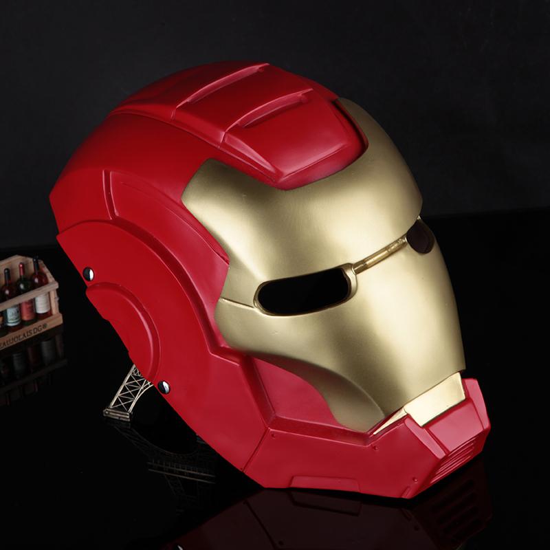 Versandkostenfrei 2014 neuankömmling Filmthema maske, helm maske iron man 3, iron man maske Collector' s Ausgabe