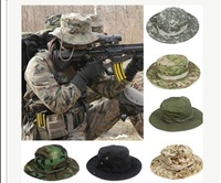 Fashion Camouflage Military Hat With Wide Brim Boonie Sun Fishing Bucket Camping Hunting Hat