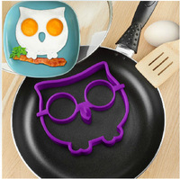 Food grade silicone owl fried egg mould eggs mold cooking tools free shipping