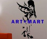 BANKSY STYLE AMY WINEHOUSE Wall Art GRAFFITI  For Bedroom NO.550  ART MART