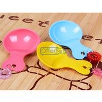 Pet Products 2 PCS High Quality Candy Colored Pet Dog Cat Food Scoop Dog Food Shovel