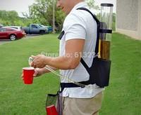 Free Shipping 1Piece Backpack Drinks Dispenser - 3ltr / 62*10*10 cm / portable mini drinks dispenser for party