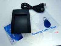 ISO15693 ISO14443A&B USB 13.56MHz RFID Reader Writer + SDK + IC Card Keyfob NFC Tag Sticker + iCode SLI Label + eReader Software