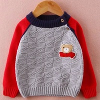 2014 New Fashion Kids Sweatshirts Spring Autumn Casual children baby sweater clothing 4-10 old free shipping