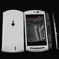 Full Original Cover Battery cover Keypad Housing faceplate For Sony Ericsson Xperia NEO V MT11i MT15 MT15I White