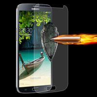 0.3mm 2.5D Explosion-proof Tempered Glass Screen Protector Film for Samsung Galaxy Mega 6.3 / i9200