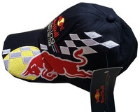 Wholesale f1 formula one team hat motorcycle racing driver team hat basebll cap blue with tag free shipping