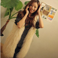 2014 fashion new women's winter fur coat ladies wool fur coat and long sections free shipping