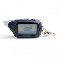 8 Anniversary of establishment two way car alarm system Starline C9  +LCD C9 Russian version LCDremote engine starter