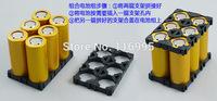 Free shipping  100pcs 2pin 18650 battery holder /  bracket combination / electric bike battery bracket