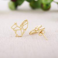 2014 fashion Silver kangaroo earrings for women free shipping
