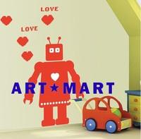 Kids Wall Decal She is a Robot,Kids Wall Stickers No.188  ART-MART