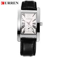 2 Colors CURREN 8122 Leather Men Watches Brand Fashion Watches Men Quartz Watch 1piece/lot BW-SB-904