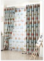 [Textile goddess]Children's curtains shade cloth curtains custom cartoon children's room boy * Cars