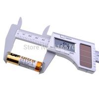 "New 6"" 150mm Solar Digital Caliper Carbon Fiber Composite Vernier Gauge Micrometer Solar Caliper (0~150 mm/0~6 inch)"