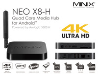 Minix Neo X8-H Amlogic S802-H 4K Video Android 4.4 Kitkat Dolby Digital + Neo M1 Mouse 2GB 16GB