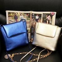 2014 New Style Trendy Fresh Women One Shoulder Bag Sweet PU Small Bag Fashion Crossbody Messenger Bags WJ1009