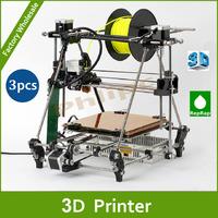 DHL Free shipping+  Reprap 3D Printer Self-replicating Machine Open Source 3D Print single Duplicator DIY KIT for ABS PLA
