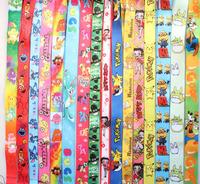 Wholesale 1000 pcs cartoon phone lanyard mixed free shipping
