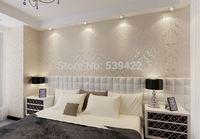 European embossed textured PVC wallpaper for Livingroom_Bedroom