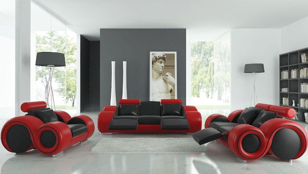 Volledige Woonkamer Set : sofa woonkamer sofa set met top italiaanse ...