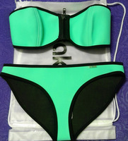 hot selling NEOPRENE BIKINI Superfly Swimsuit Bottoms Neoprene  one set include top and bottom 88888
