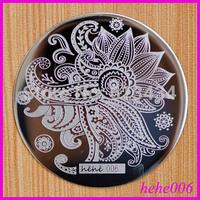 Free Shipping   8pcs/lot  hehe006  Nail Stamping Image Plates hehe001-060